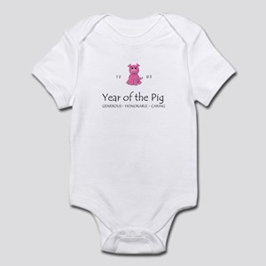 """Year of the Pig"" [1983] Infant Bodysuit"